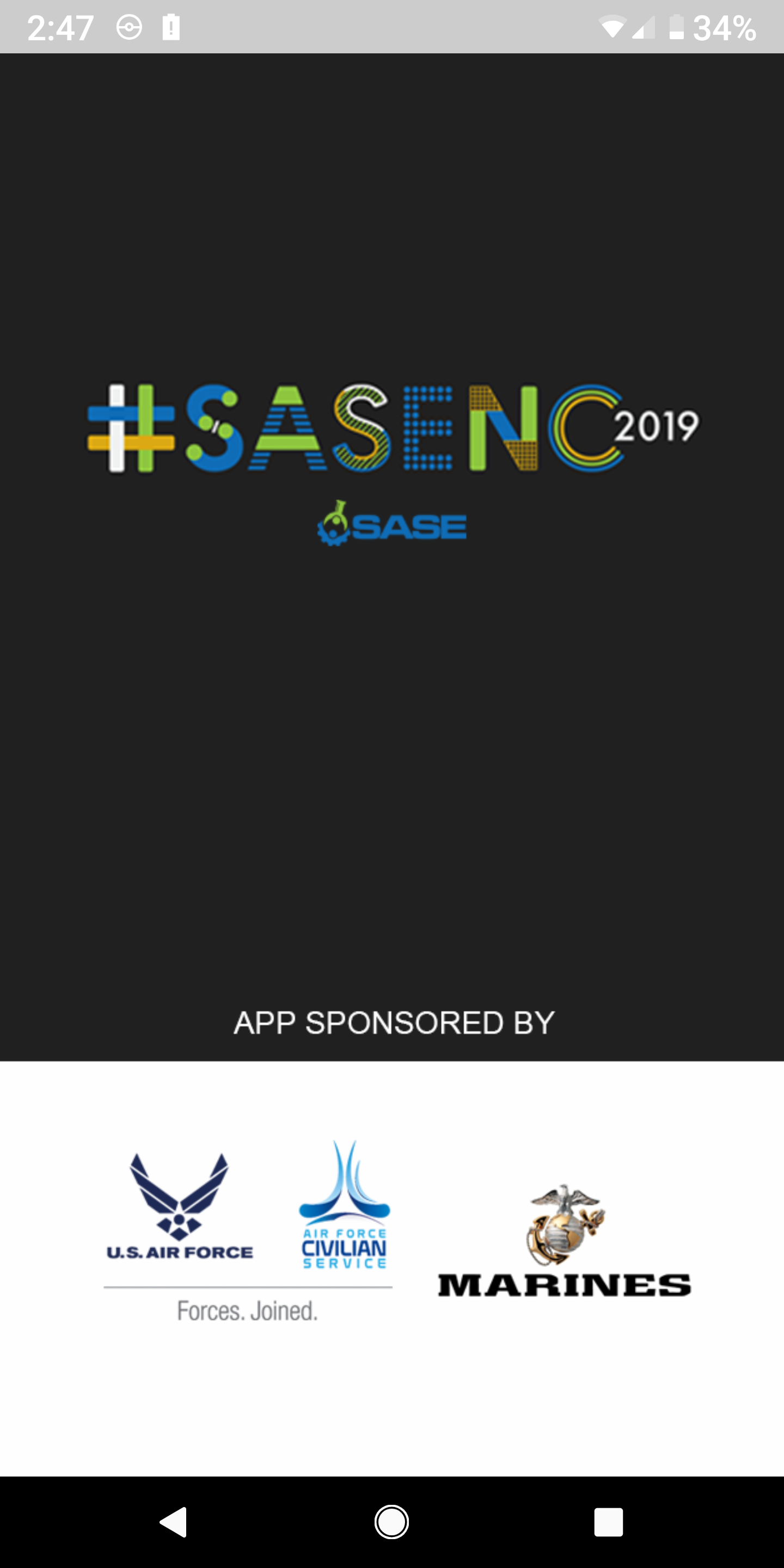 SASENC2019 Splash